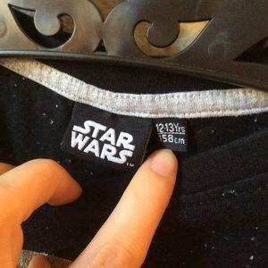 Star Wars Shirts & Tops - Star Wars Patches Long Sleeve stars tee Vader
